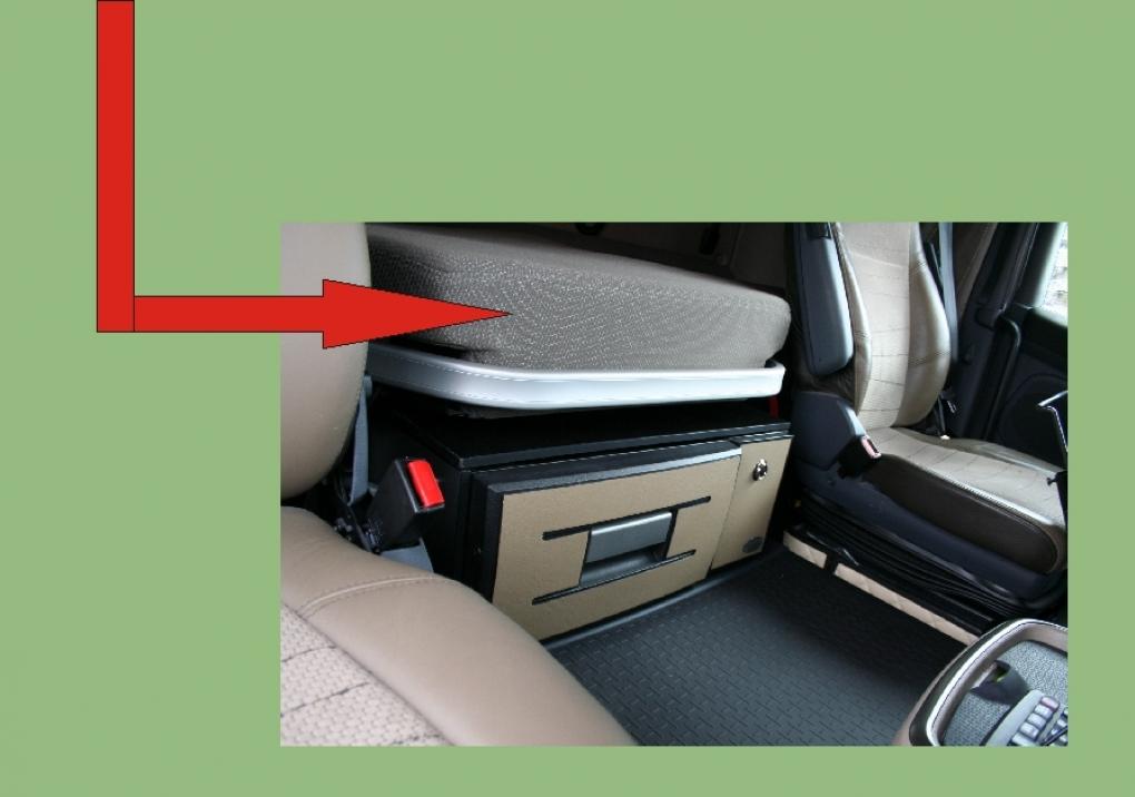 Ersatz-platte für ausziehbaren Bett und matratze Scania R