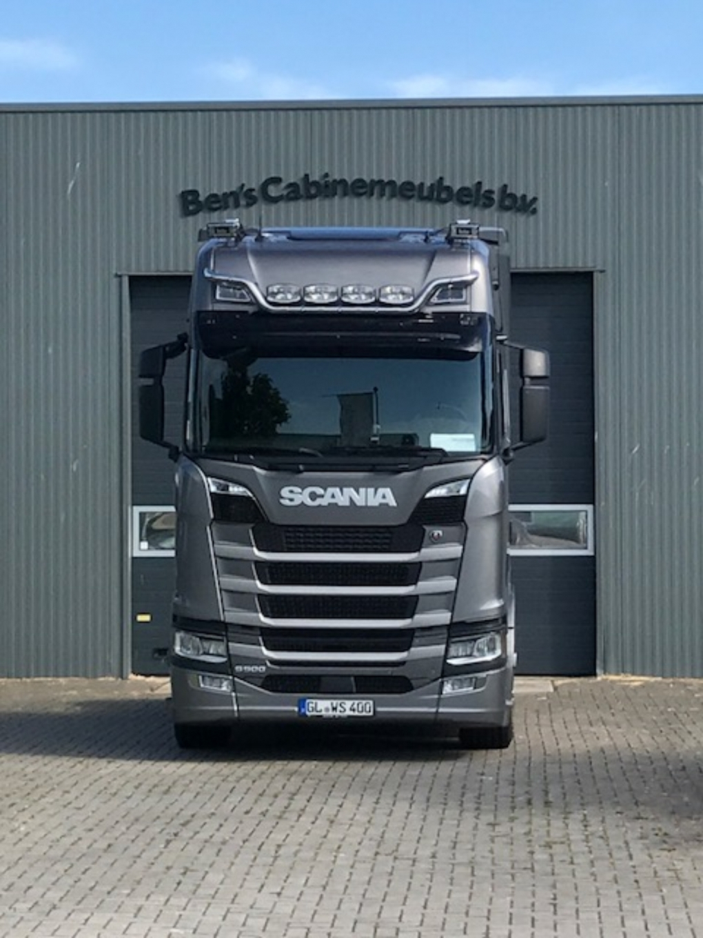 Scania S Highline Cupboards Rear