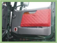 Set Door panels fitting for Volvo FH after 2002 (03) & Door panels Pezcame.Com