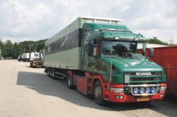 Torpedo trucks van klanten