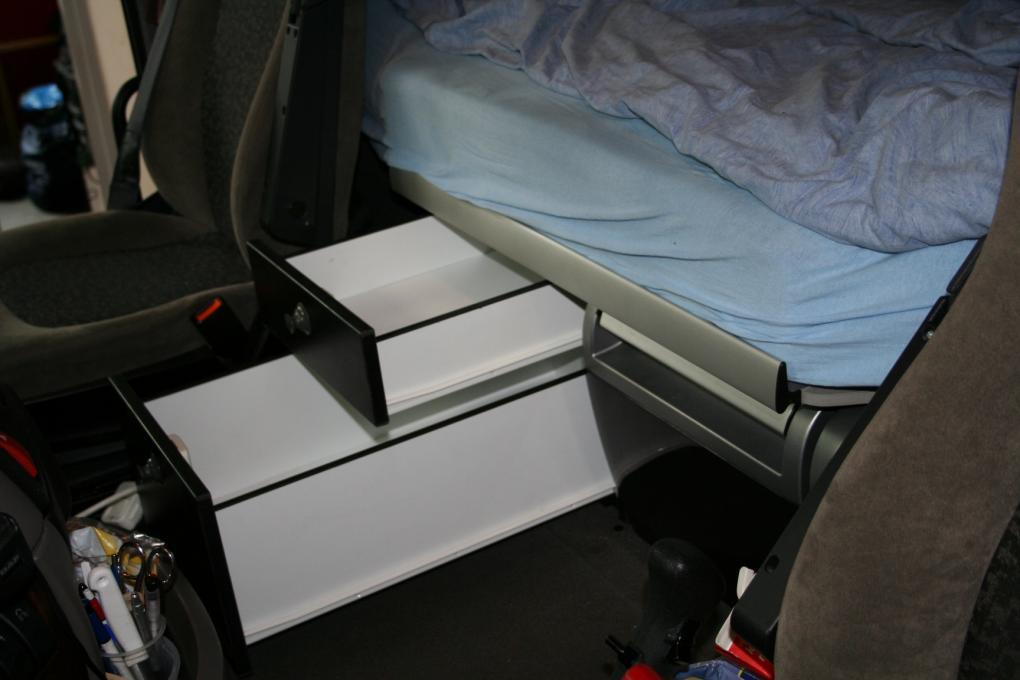 Daf 106 105 ladeblok naast bestaande koelkast for Ladenblok zelf maken